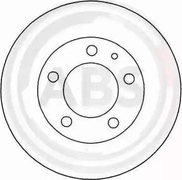 A.B.S. 15744 - Bremžu diski autodraugiem.lv