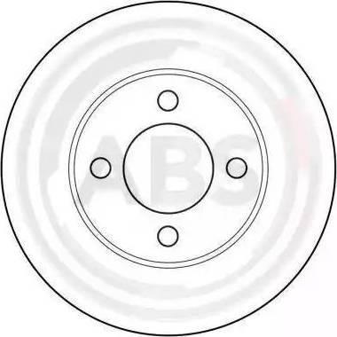 A.B.S. 15745 - Bremžu diski autodraugiem.lv