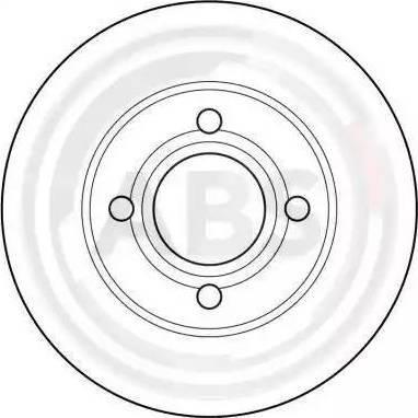 A.B.S. 15746 - Bremžu diski autodraugiem.lv