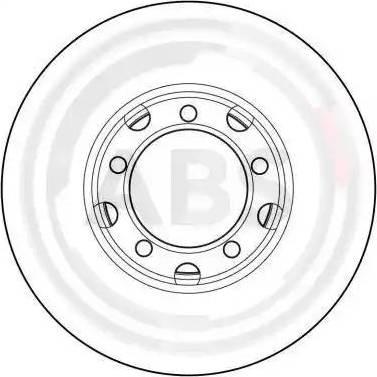 A.B.S. 15741 - Bremžu diski autodraugiem.lv