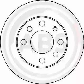 A.B.S. 15748 - Bremžu diski autodraugiem.lv