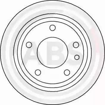 A.B.S. 15742 - Bremžu diski autodraugiem.lv