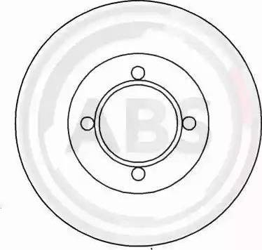 A.B.S. 15747 - Bremžu diski autodraugiem.lv