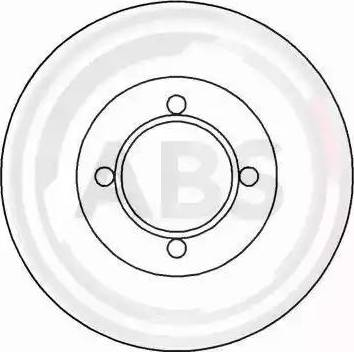 A.B.S. 15750 - Bremžu diski autodraugiem.lv
