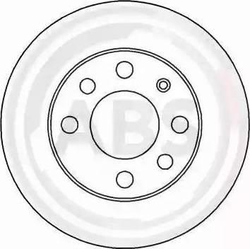 A.B.S. 15751 - Bremžu diski autodraugiem.lv