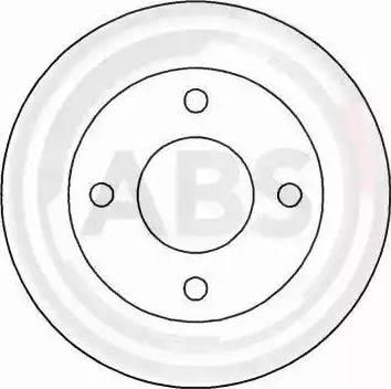 A.B.S. 15753 - Bremžu diski autodraugiem.lv