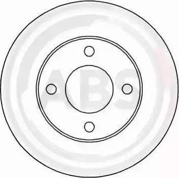 A.B.S. 15764 - Bremžu diski autodraugiem.lv