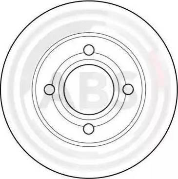 A.B.S. 15765 - Bremžu diski autodraugiem.lv