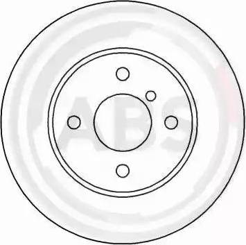 A.B.S. 15766 - Bremžu diski autodraugiem.lv