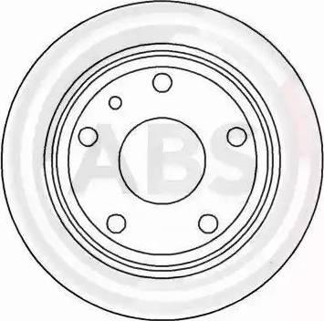 A.B.S. 15768 - Bremžu diski autodraugiem.lv
