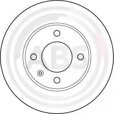 A.B.S. 15704 - Bremžu diski autodraugiem.lv