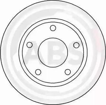 A.B.S. 15712 - Bremžu diski autodraugiem.lv