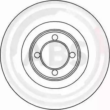 A.B.S. 15717 - Bremžu diski autodraugiem.lv