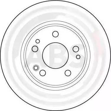 A.B.S. 15789 - Bremžu diski autodraugiem.lv