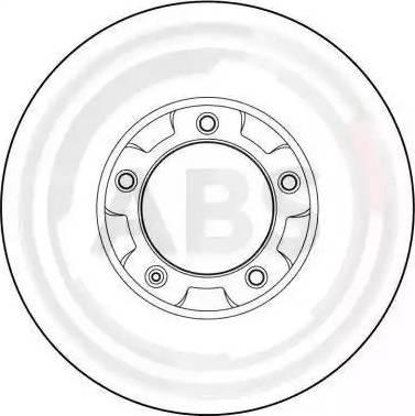 A.B.S. 15786 - Bremžu diski autodraugiem.lv