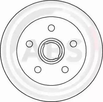 A.B.S. 15780 - Bremžu diski autodraugiem.lv