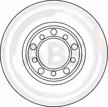 A.B.S. 15781 - Bremžu diski autodraugiem.lv