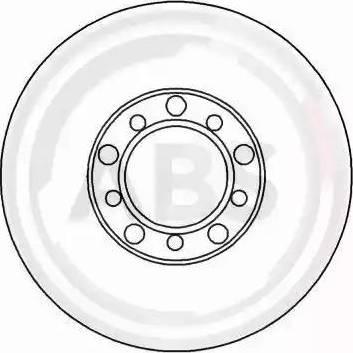A.B.S. 15739 - Bremžu diski autodraugiem.lv