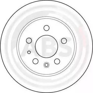 A.B.S. 15736 - Bremžu diski autodraugiem.lv