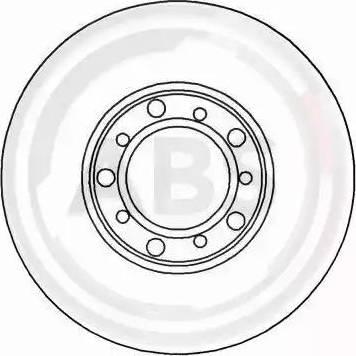 A.B.S. 15738 - Bremžu diski autodraugiem.lv