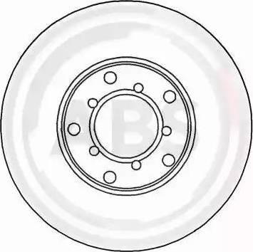 A.B.S. 15737 - Bremžu diski autodraugiem.lv