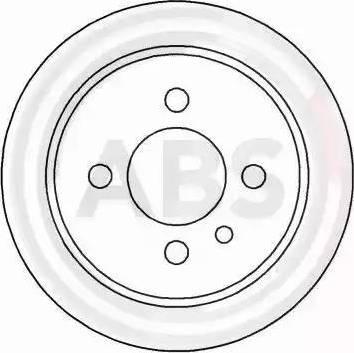 A.B.S. 15726 - Bremžu diski autodraugiem.lv