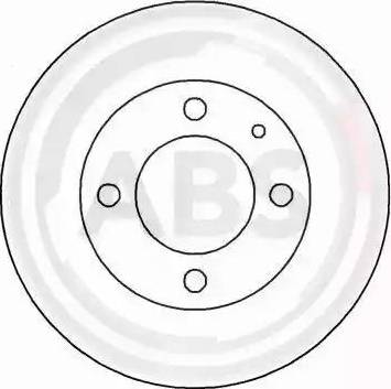 A.B.S. 15720 - Bremžu diski autodraugiem.lv