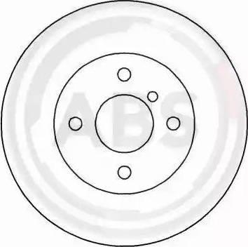 A.B.S. 15721 - Bremžu diski autodraugiem.lv