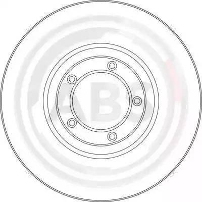A.B.S. 15775 - Bremžu diski autodraugiem.lv