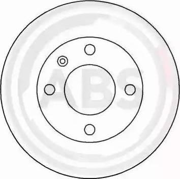 A.B.S. 15771 - Bremžu diski autodraugiem.lv