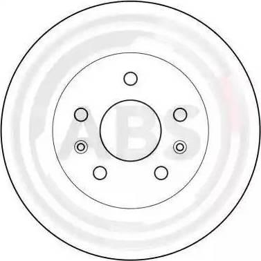 A.B.S. 15777 - Bremžu diski autodraugiem.lv