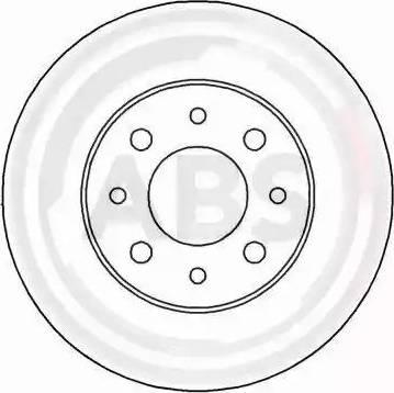 A.B.S. 16904 - Bremžu diski autodraugiem.lv