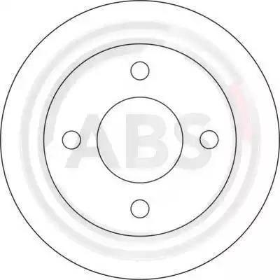 A.B.S. 16065 - Bremžu diski autodraugiem.lv