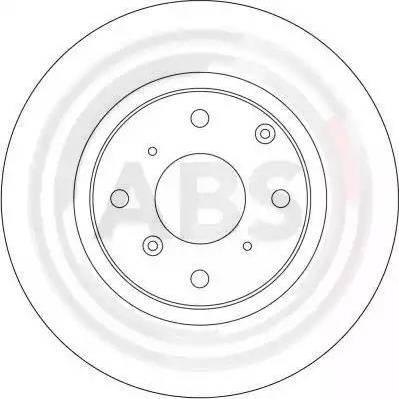 A.B.S. 16003 - Bremžu diski autodraugiem.lv