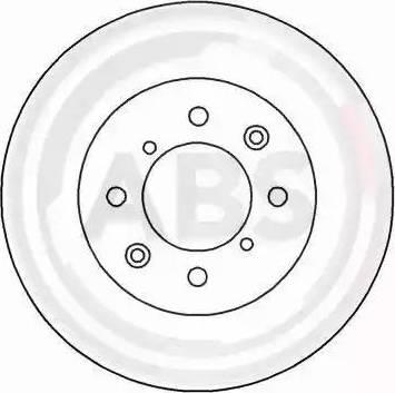 A.B.S. 16002 - Bremžu diski autodraugiem.lv