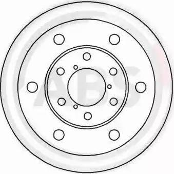 A.B.S. 16390 - Bremžu diski autodraugiem.lv