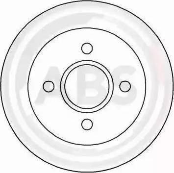 A.B.S. 15813 - Bremžu diski autodraugiem.lv