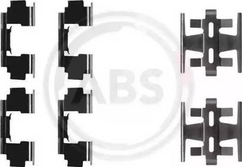A.B.S. 1090Q - Piederumu komplekts, Disku bremžu uzlikas autodraugiem.lv