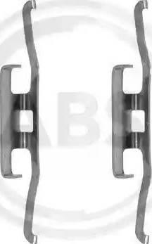 A.B.S. 1098Q - Piederumu komplekts, Disku bremžu uzlikas autodraugiem.lv