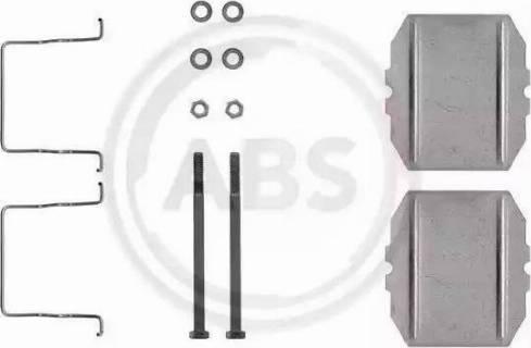 A.B.S. 1053Q - Piederumu komplekts, Disku bremžu uzlikas autodraugiem.lv