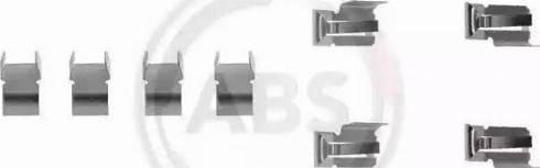 A.B.S. 1060Q - Piederumu komplekts, Disku bremžu uzlikas autodraugiem.lv