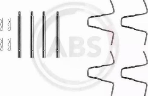 A.B.S. 1005Q - Piederumu komplekts, Disku bremžu uzlikas autodraugiem.lv