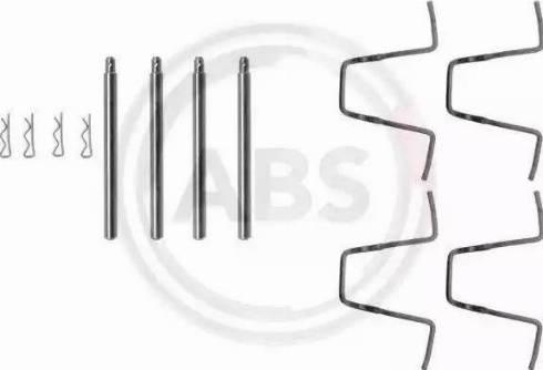 A.B.S. 1010Q - Piederumu komplekts, Disku bremžu uzlikas autodraugiem.lv