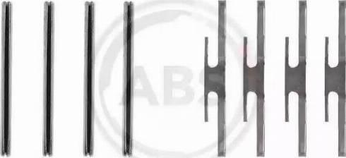 A.B.S. 1012Q - Piederumu komplekts, Disku bremžu uzlikas autodraugiem.lv