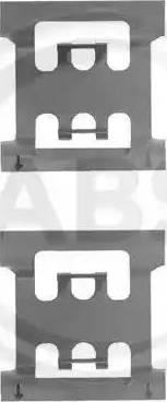 A.B.S. 1083Q - Piederumu komplekts, Disku bremžu uzlikas autodraugiem.lv