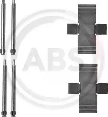 A.B.S. 1039Q - Piederumu komplekts, Disku bremžu uzlikas autodraugiem.lv