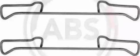 A.B.S. 1150Q - Piederumu komplekts, Disku bremžu uzlikas autodraugiem.lv