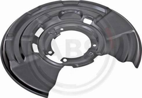 A.B.S. 11009 - Dubļu sargs, Bremžu disks autodraugiem.lv