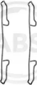 A.B.S. 1100Q - Piederumu komplekts, Disku bremžu uzlikas autodraugiem.lv