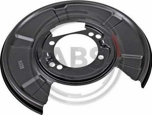A.B.S. 11071 - Dubļu sargs, Bremžu disks autodraugiem.lv